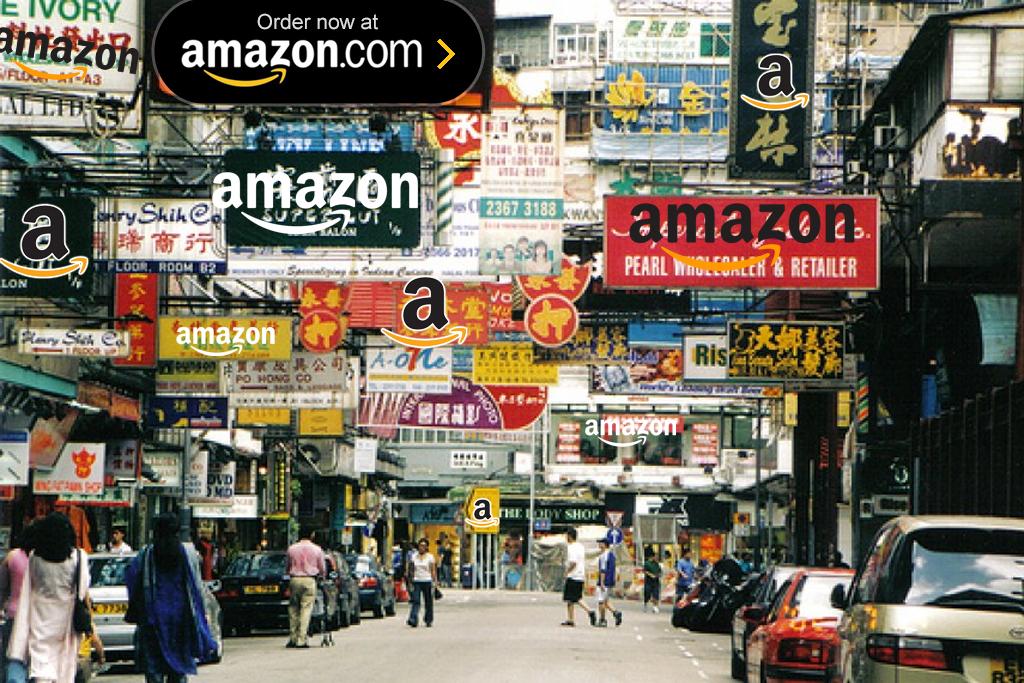Amazon advertises on the Firestick