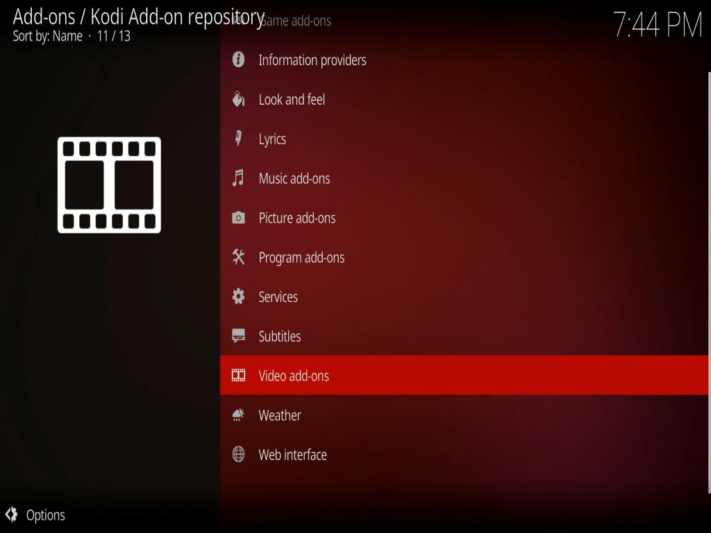 kodi repository install addon