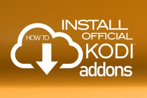 How to install addons from Kodi Official Repository